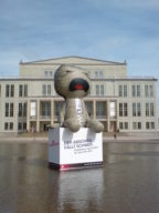 Sackboy In Leipzig