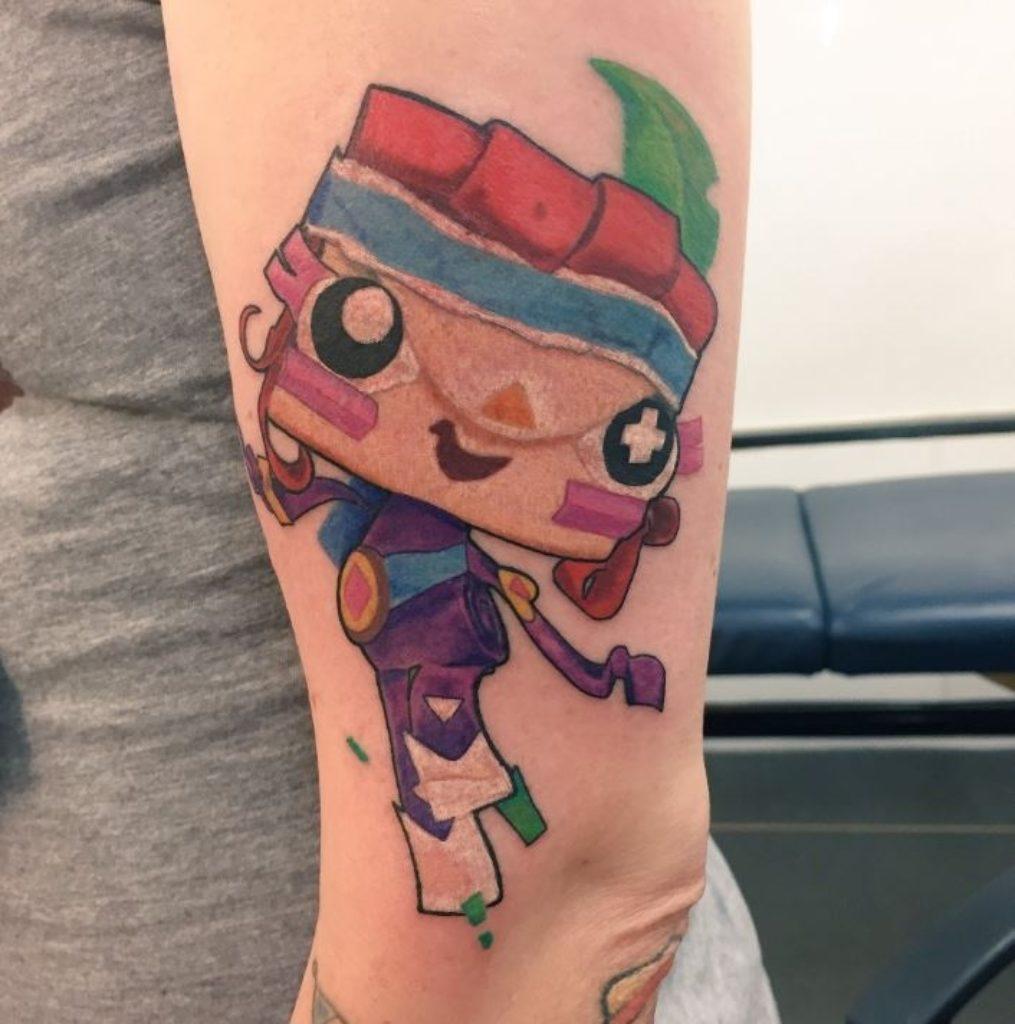 @ginatheshort Tattoo