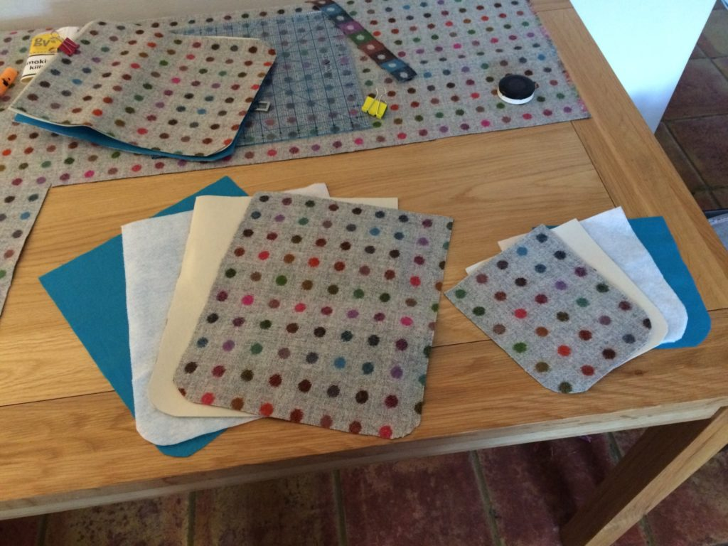 Backing-fabric