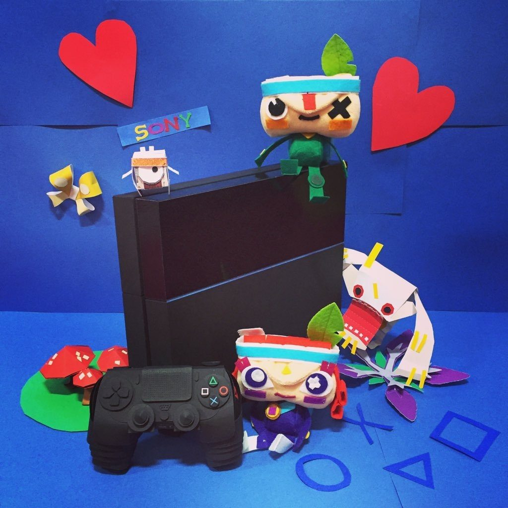 Papercraft Playstation