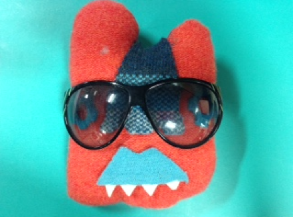 Sunglasses And A Felt Face